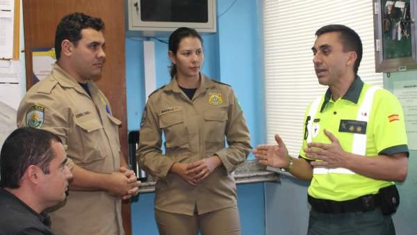 Javier Molano, Guardia Civil en el Mundial de Brasil