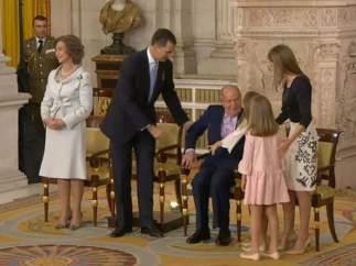 Anécdota en el Palacio Real