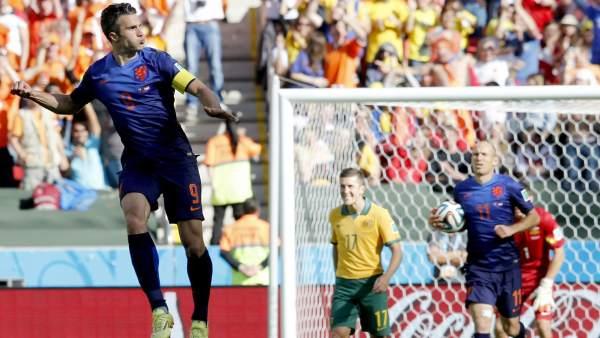 Gol de Van Persie a Australia