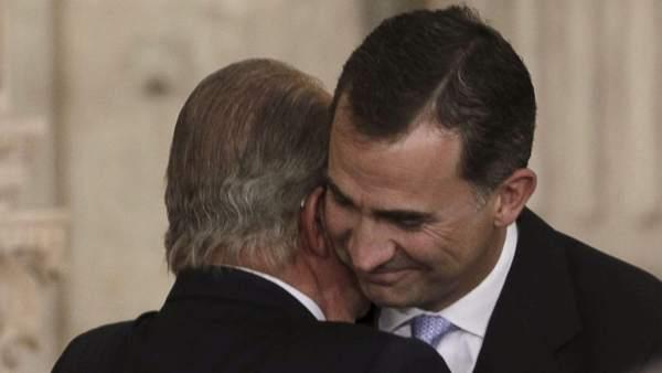 Abdicación de don Juan Carlos