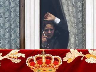 Felipe Juan Froilán, en el Palacio Real