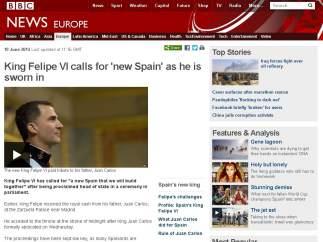 La BBC británica.