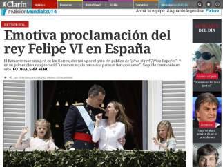 El argentino Clarin.