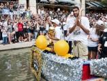 Los Spurs celebran su título NBA 2014