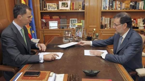 Felipe VI redecora el despacho de su padre