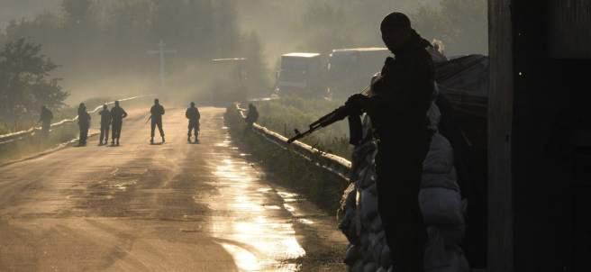 Prorruso en Donetsk