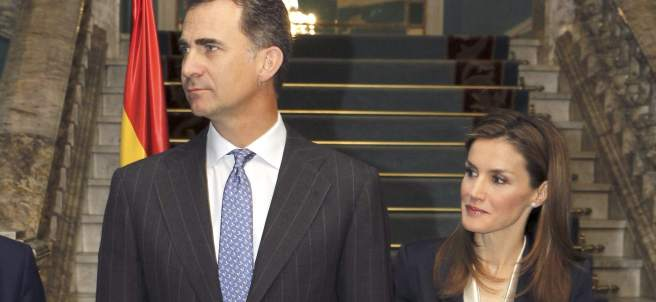 Felipe y Letizia, reyes de España