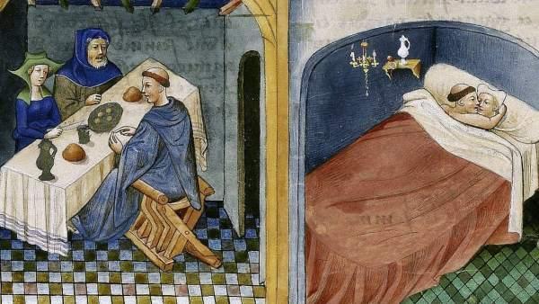 El sacerdote y los esposos