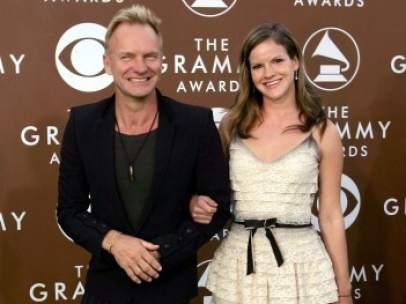 Sting y su hija Kate Sumner