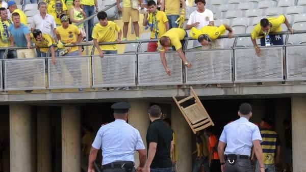 Incidentes en Las Palmas