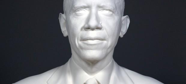 'President Barack Obama Bust'