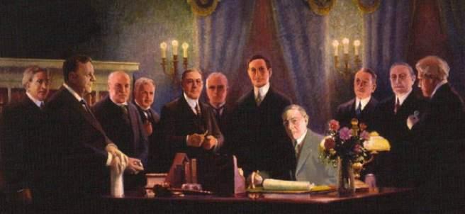 Firma del Acta de la Reserva Federal