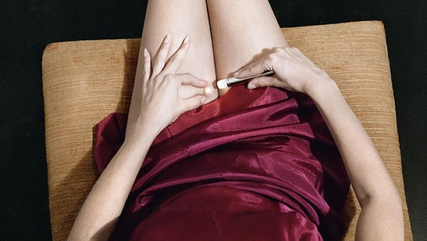 Woman in Crimson Slip, 1978, from Jo Ann Callis: Other Rooms (Aperture, 2014)