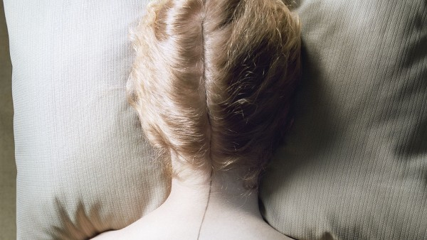 Woman with Black Line, 1976–77, from Jo Ann Callis: Other Rooms (Aperture, 2014)
