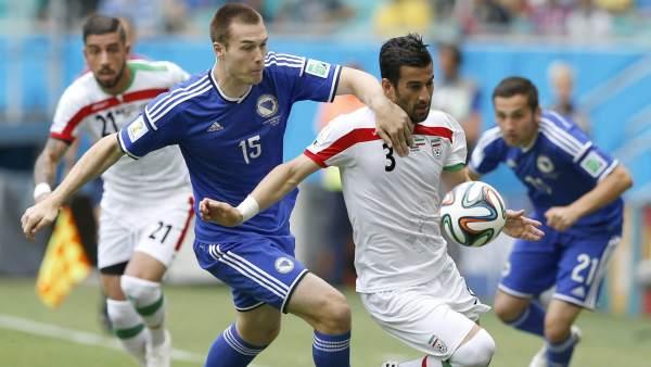 Irán - Bosnia