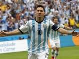 Gol de Messi con Argentina