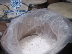 Incautado 2.650 kilos glicidato de PMK, un precursor de drogas de síntesis de origen chino