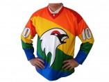 La nueva camiseta del Kiruna IF de hockey sobre hielo