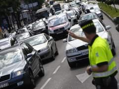 Tr�fico en Madrid