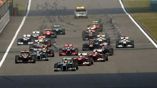 Salida de Fórmula 1