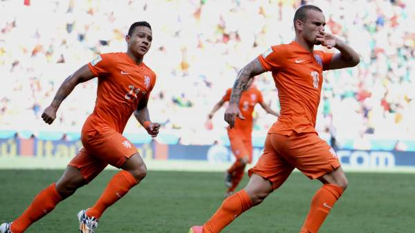 Gol de Sneijder