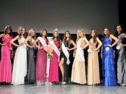 Participantes en el concurso Miss Teenager Universo 2014
