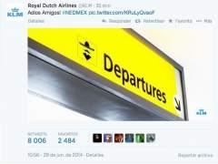 KLM y la respuesta de Gael García Bernal