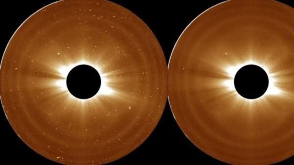 Muestra de las observaciones científicas que han hecho los astrónomos.