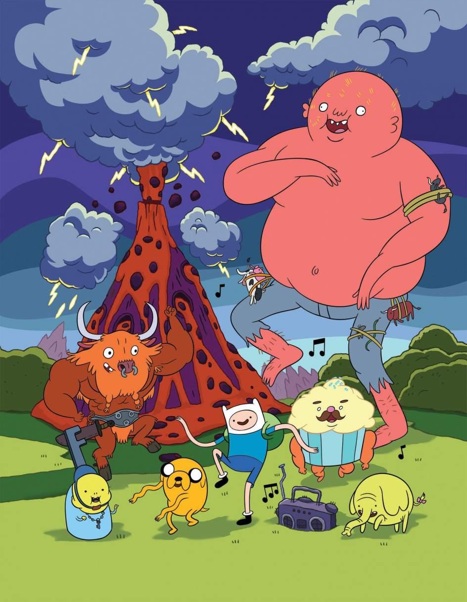 El surrealismo toma la animacin televisiva Hora de aventuras