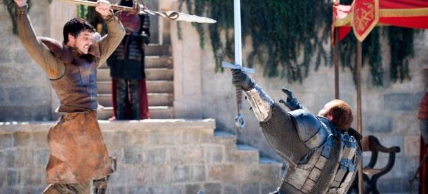 Oberyn Martell y La Montaña en Juego de tronos