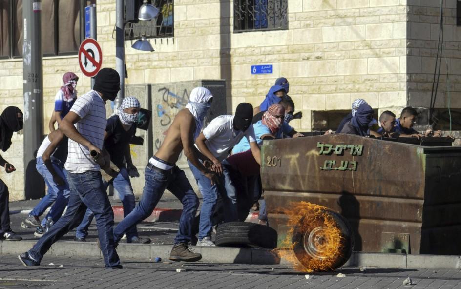 Enfrentamientos Entre palestinos e Israelies en Jerusalén