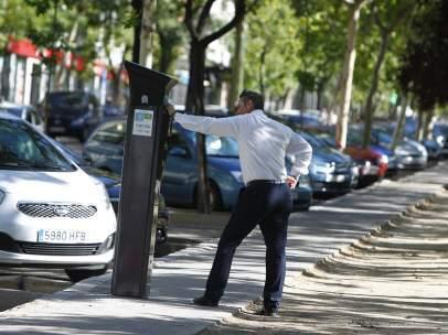 Parquímetros en Madrid