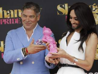 Conchita Wurst, en Madrid