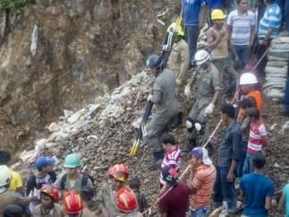 Mineros desaparecidos Honduras