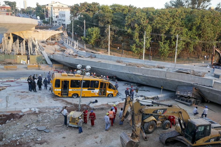 Tragedia en Belo Horizonte, Brasil