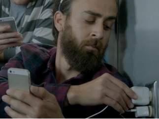 Anuncio del Samsung Galaxy.