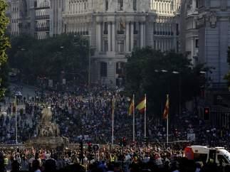 La calle de Alcalá, arcoiris
