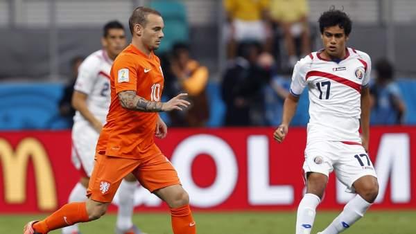 Sneijder y Tejeda