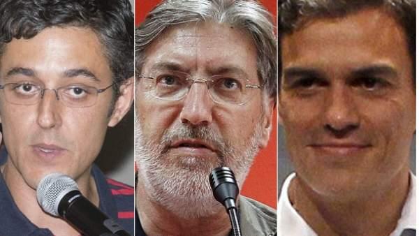 Candidatos del PSOE