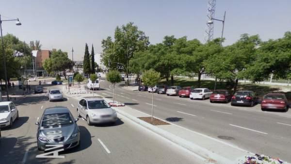 Avenida España en Alcobendas