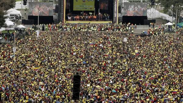 Colombia, loca con su selección