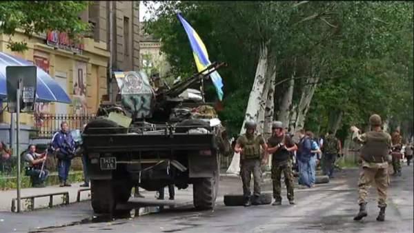 Operacion en Lugansk