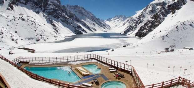 Estación de esquí de Portillo, en Chile