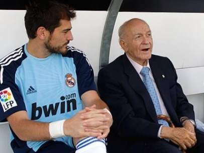Di Stéfano y Casillas