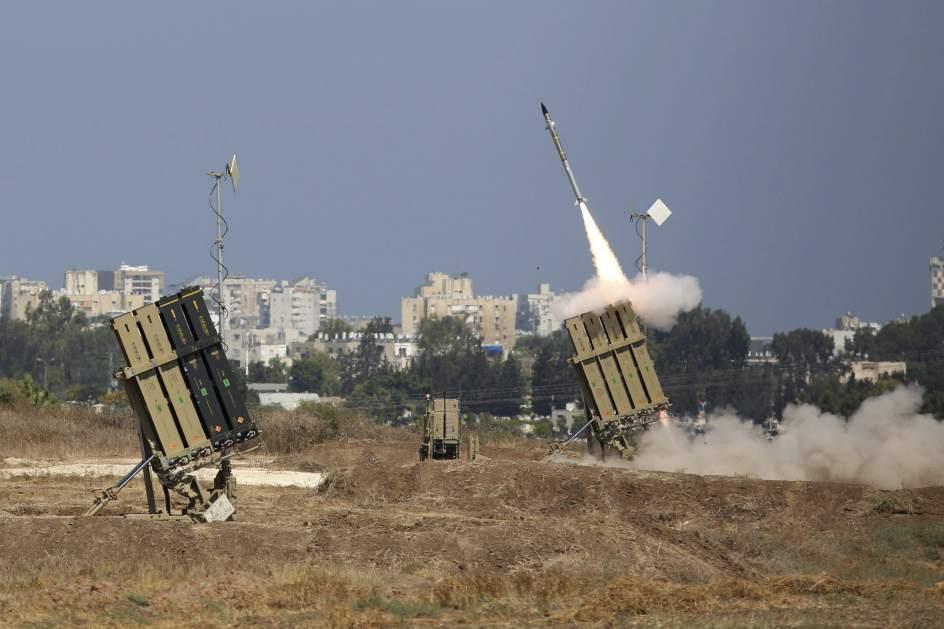Misiles y cohetes en Israel