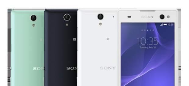 Sony anuncia el Xperia C3, su apuesta por conquistar el mercado de los 'selfies'