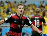 Klose, máximo goleador de los mundiales