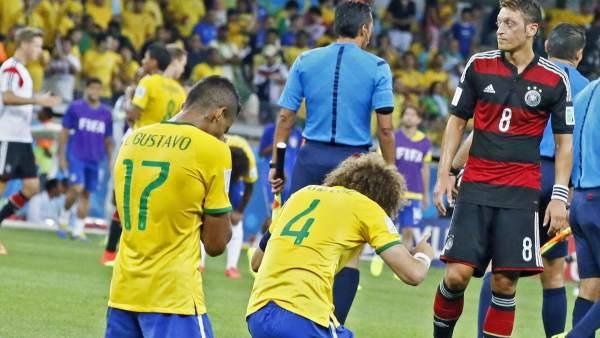 Brasil, de rodillas ante Alemania