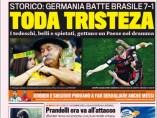 La Gazzetta, ante la eliminación de Brasil