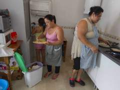 Familias ocupas de Sanlúcar de Barrameda, Cádiz.